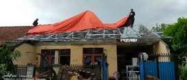 Renopasi atap tanpa pindah rumah