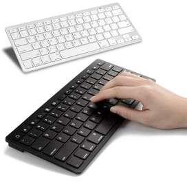 Ultra Slim Mini Keyboard Bluetooth untuk Android/IOS/Macbook/Windows