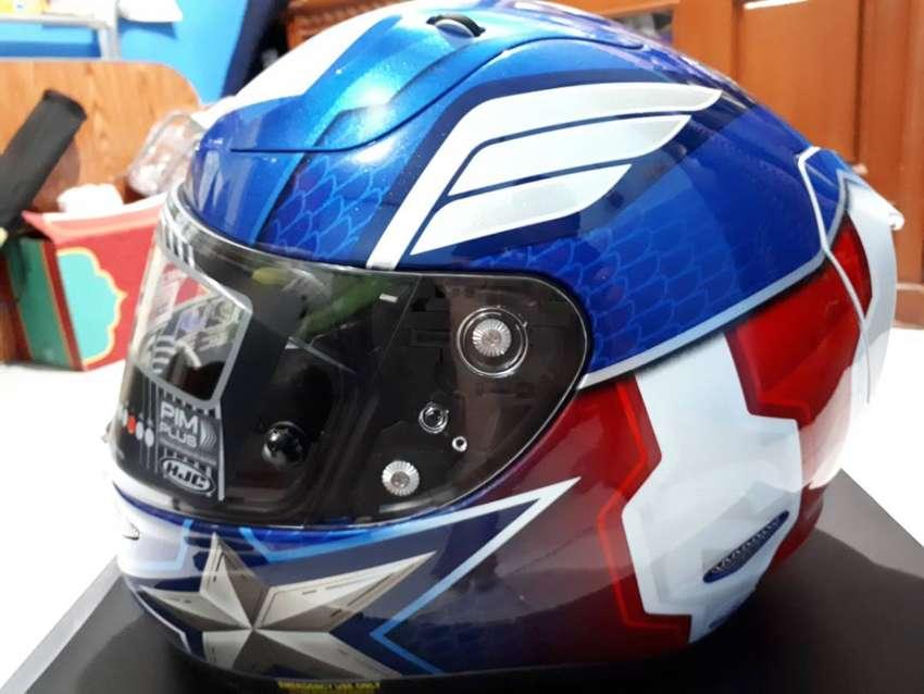 Helm HJC Special Edition Captain America 0