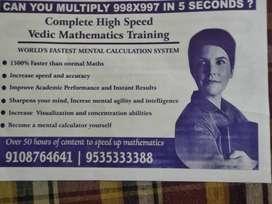 Vedic mathematics trainer