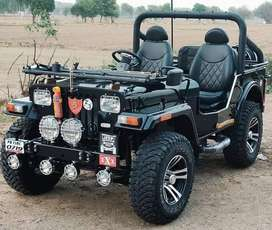 open and close modified jeeps