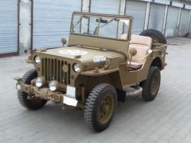 Military design modified jeep