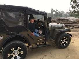 Nissan engine modified jeep