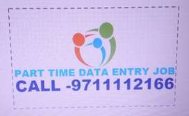 Offline Data Entry Job, part-time job,typing Copy Paste Job  WORK FROM