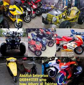 Abdullah enterprises whole seller atv quad4wheel delivery all pakistan
