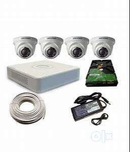 4CH HD CCTV Camera installation 0