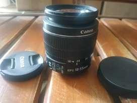 Lensa Canon 18-55 IS II