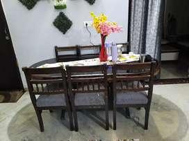Originally  teakwood dinning table