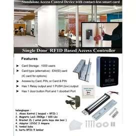 Paket Access Pintu Sidik Jari Lengkap