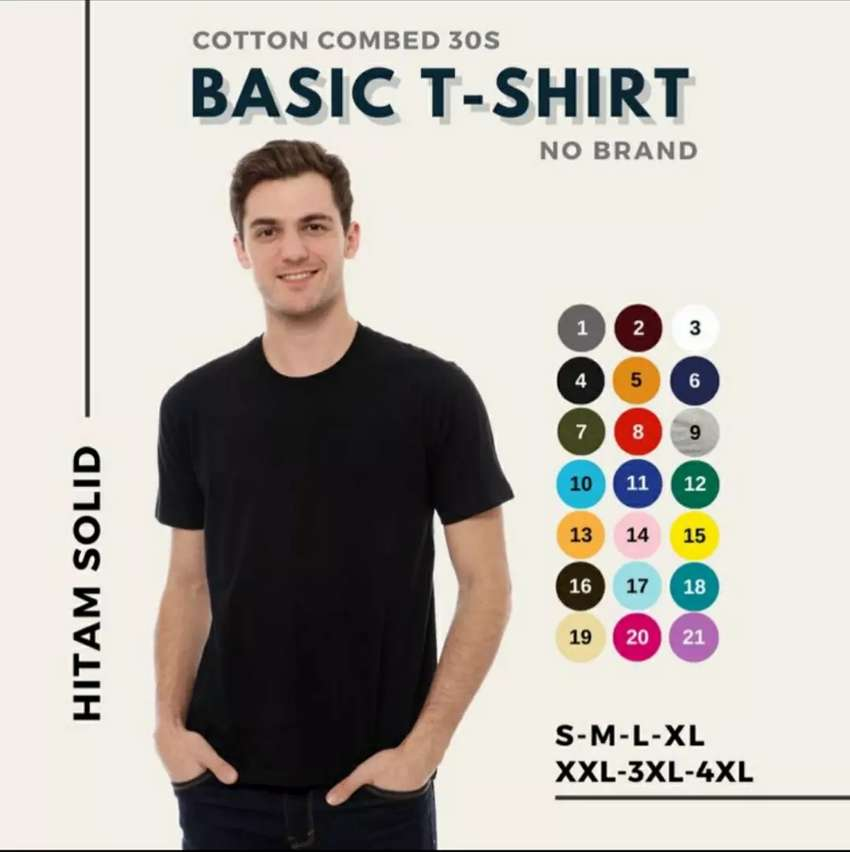 Cotton combed 30s 0