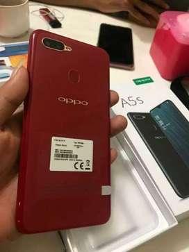 Handphone stok terbatas Simpur Center Oppo A5s Red