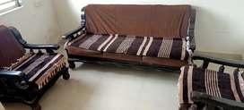 Sofa Set in Brown Colour