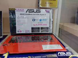 Asus VivoBook A412DA-Ryzen 3 Kredit Proses Cepat