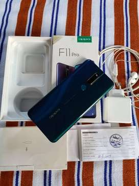 Oppo F11 pro mobile phone PTA Approved