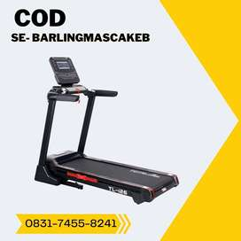 treadmill elektrik tl 126 treadmil auto incline COD Banyumas