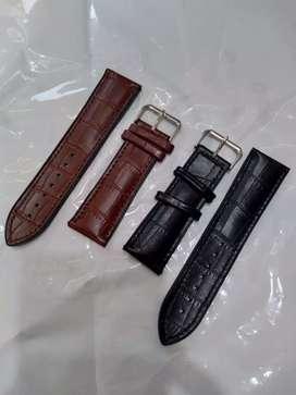 Tali jam tangan silicon motif kulit