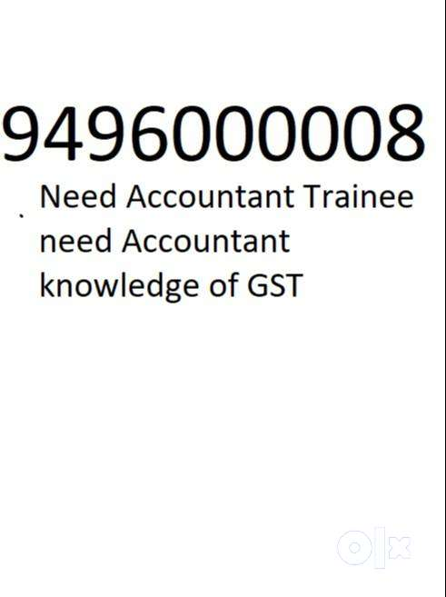 Male accountant for gst filing for consulting office and trainees 0