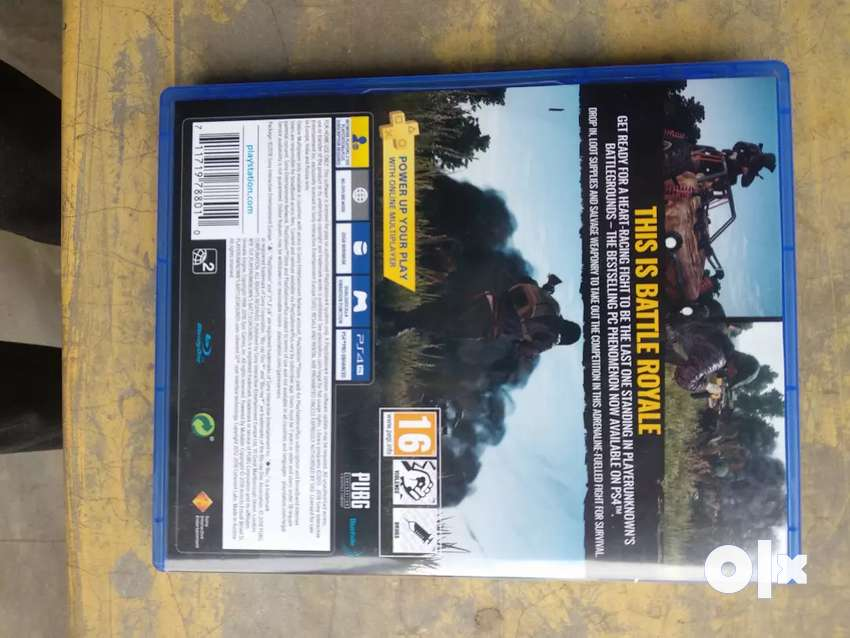 Play station 4 PUBG DISK 0