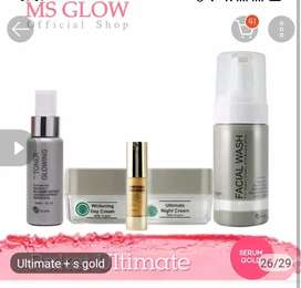 skincare ms glow ultimate+s gold