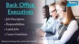 Hiring for Back office and Sales Manager