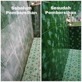 Pembersih kerak kamar mandi tanpa ribet