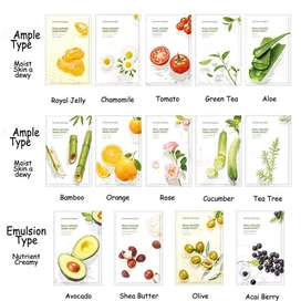 [Ready Stock]100% ORI Nature Republic Mask Sheet Real Nature Masker