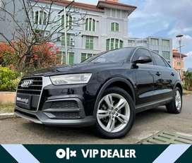 [VIP Dealer] Audi Q3 1.4 TFSI 2018  Facelift Black Km20rb #AUTOHIGH
