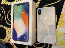 Iphone X 64gb with Box & Charger