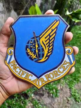 Plakat Militer Asli Pacific Air Force USA