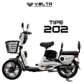 Sepeda Listrik Volta 202 Bisa Kredit Promo Gratis Admin Promo Wekend