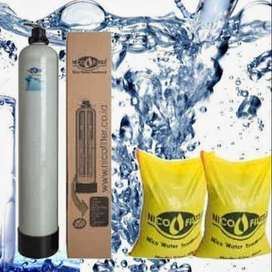 atasi air sumur bau lumpur kuning karat keruh jadi jernih bebas bakter
