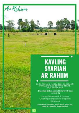 Tanah Kavling Syariah Ar Rahiim Siap Bangun di Karawang