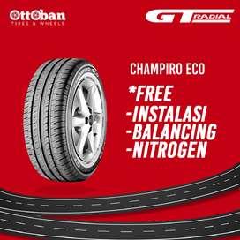 Kredit Ban Mobil GT Radial 175/65 R14 Champiro Eco untuk Brio, Sigra