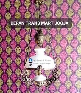 Produksi Lampu Antik Gantung & Dinding Katrol Hias Joglo Gebyok