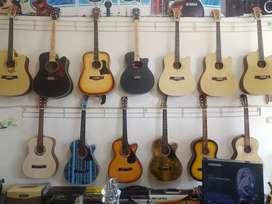Gitar akustik untuk pemula kwalitas mantap