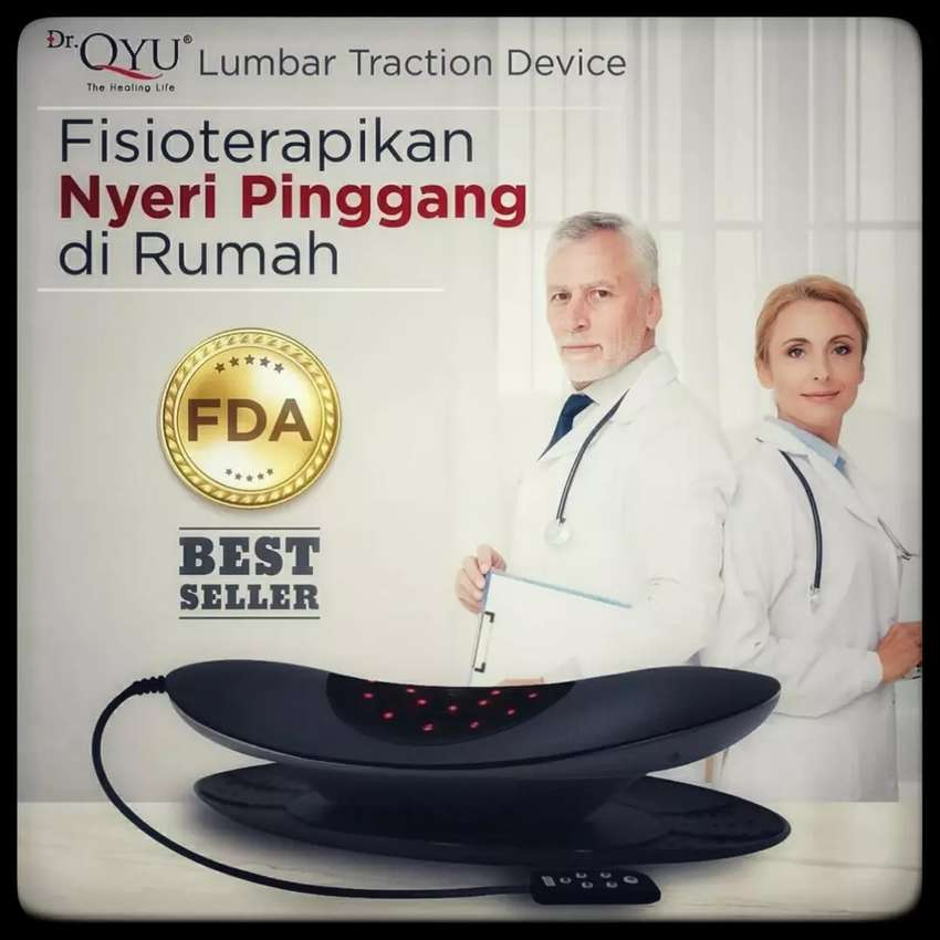 Dr.Qyu LUMBAR TRACTION DEVICE Terapi Nyeri Pinggang 0