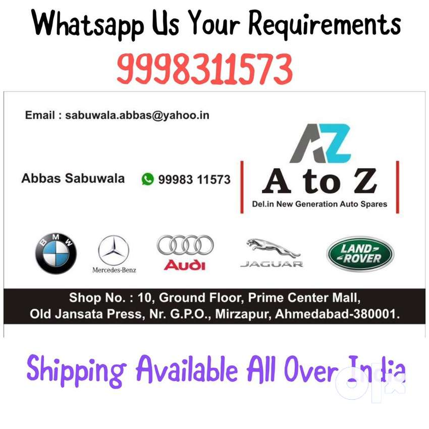 A to Z Auto Parts Ahmd 0