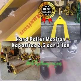 Hand Pallet Maxiton Baru 3 Ton