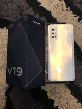 Vivo V19 8/128GB White Mulus Like New Fulset