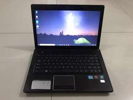 Laptop GAMING/DESAIN ! Laptop Lenovo G470 - Core i5 Gen 2