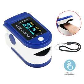 Finger print Pulse Oximeter with OLED Display Heart Rate monitor