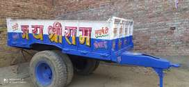 Tractor ka trolley(trolley in new condition,all tyre in good condition
