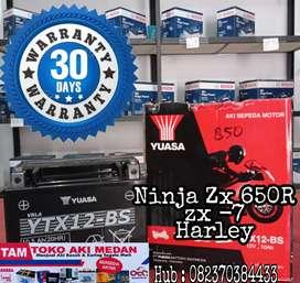 Batre Moge ninja zX 650 Harley davidson