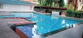 Sasthamangalam, luxurious river view 3BHK flat with all amenities