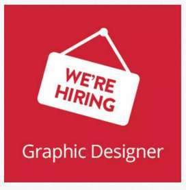 Looking for full time graphics designer
