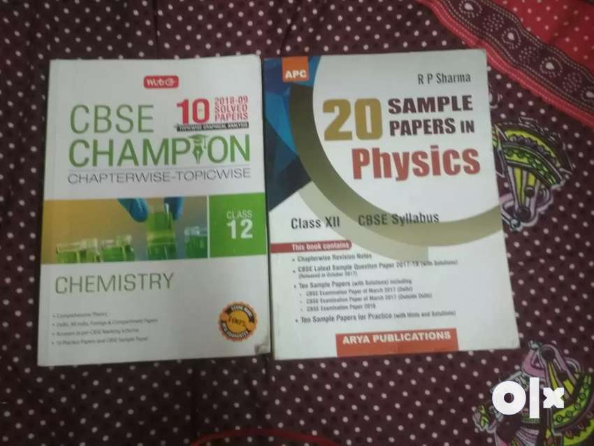 Cbse 10 year paper solve chemistry and phyiscs class 12 0