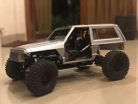 Rc adventure axial wraith custom hard body cherokee