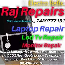 Laptop Repair ke liye Sampark kare ElectroRefix Raj Repairs