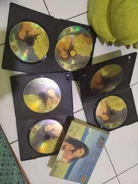1 set VCD karaoke isi 7 vcd love song vol 2