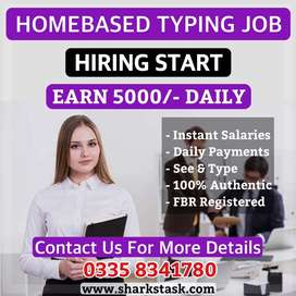 MS Word Typing Job - Work From Home